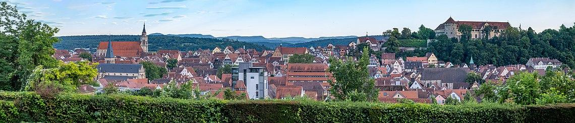 Panorama über Tübingen von der Osianderstraße aus.jpg