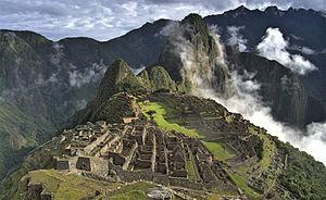 Panorama Machu Picchu