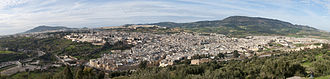 Fez, Morocco - Panoramic view of the Old Medina