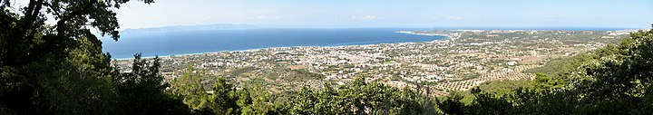 Panoramic view from Ialyssos Rhodes Greece.jpg