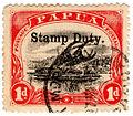 Papua postage stamp overprinted stamp duty.jpg