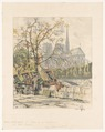 Paris, Notre Dame II, Quai de la Tournelle - Library of Congress.tif