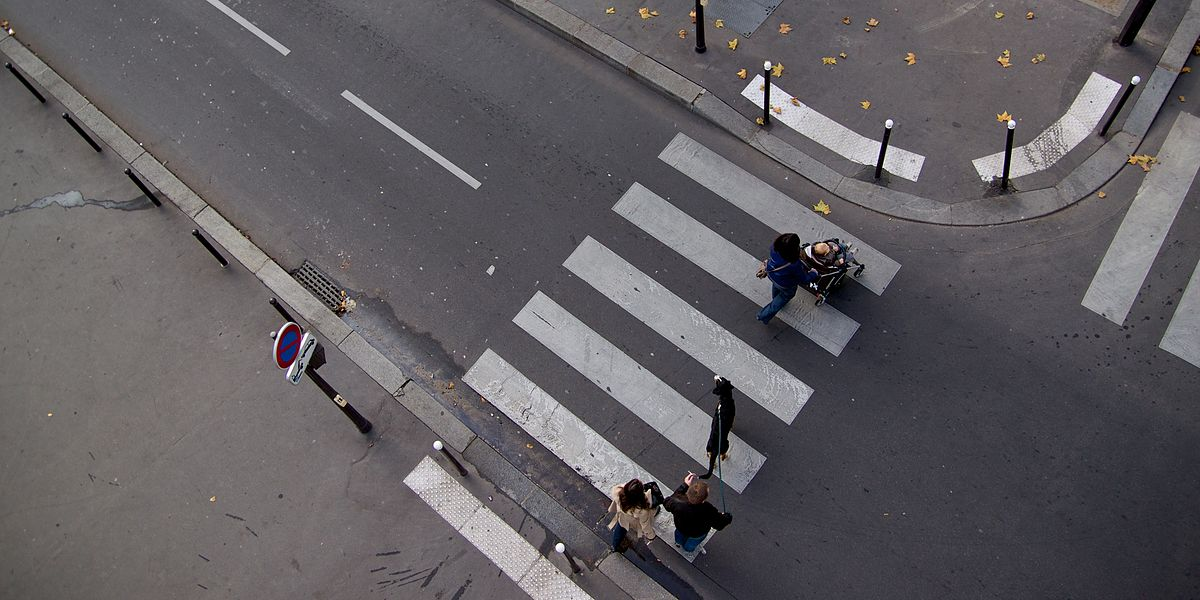 The Meaning Of Pedestrian Crossing
