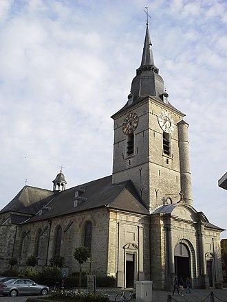 Merchtem - Image: Parochiekerk Onze Lieve Vrouw Kerkstraat Merchtem Belgium