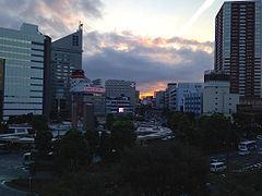 Part of Hamamatsu Skyline