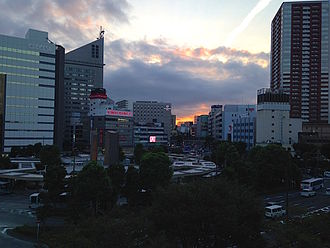 Tōkai region - Image: Part of Hamamatsu Skyline