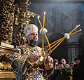 Participation in the liturgy and enthronement of the Primate of the Orthodox Church of Ukraine (2019-02-03) 13 (cropped).jpeg