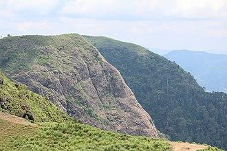 Peermade - View from Parunthumpara in Peerumedu