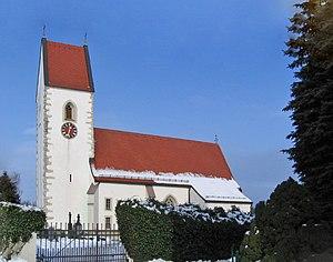 Pasching - Image: Pasching Kirche