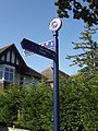 Path to Station Approach - Solihull - directions sign (8012156812).jpg