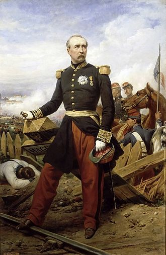 Irish military diaspora - Patrice de MacMahon, duc de Magenta at the Battle of Magenta