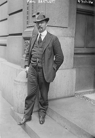 Paul Wayland Bartlett - Paul Wayland Bartlett in 1918