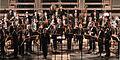 Pauluskirche Ulm Konzert Orchester vor dem ersten Stück 2009 03 22.jpg