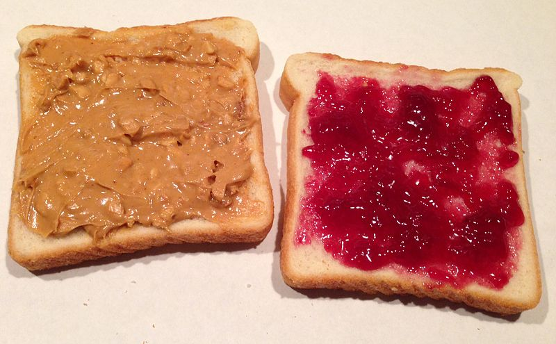 File:Peanut Butter and Jelly Sandwich.jpg
