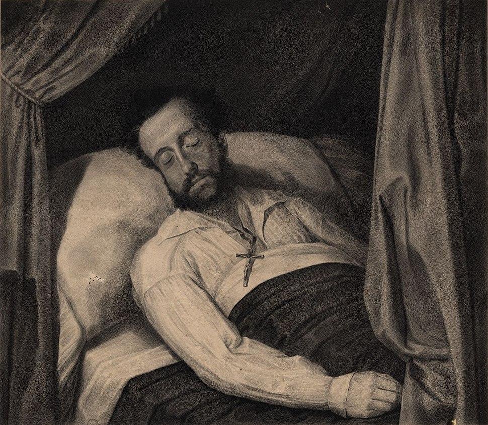 Pedro I of Brazil dead 1834