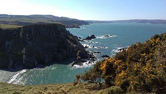 Pembrokeshire Coast Path - Between Pwllgwaelod and Fishguard