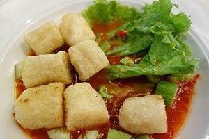 Fishcake - Image: Pempek Bangka
