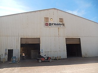 Jim Reese (Texas politician) - Reese's Penatek Industries at 6830 Cargo Rd. (formerly East Business Loop 20) in Odessa