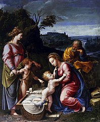 Holy Family with St. John the Baptist and St. Catherine of Alexandria