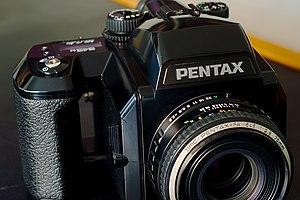 Pentax 645 - Pentax 645N with 75 mm lens