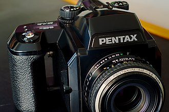 Pentax 645 - Pentax 645N with 75 mm lens
