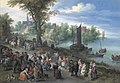 People dancing on a river bank by Jan Brueghel the elder.jpg