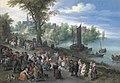 People dancing on a river bank by Jan Brueghel the elder.jpg