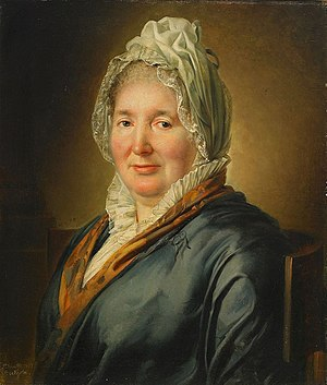 Per Krafft the Younger - Portrait of Christina Hjorth by Krafft.