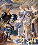 Perseus and the Sea Nymphs - Edward Burne-Jones, 1877.jpg