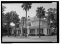 Perspective view - Villa Las Palmas, 315 Alachua Avenue, Fernandina Beach, Nassau County, FL HABS FLA,45-FERB,9-1.tif
