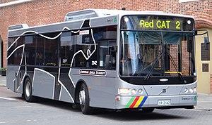 Perth Central Area Transit - Volgren CR228L bodied Volvo B7RLE.