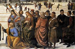 Delivery of the Keys (Perugino) - Wikipedia
