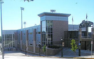 Petersen Sports Complex - Support building