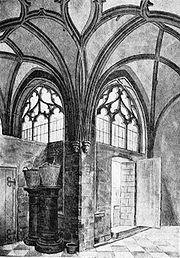 Peter weyer kreuzgang kartause koeln 1840