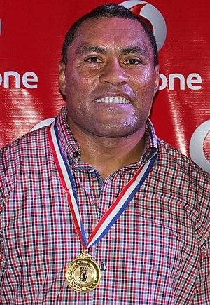 Petero Civoniceva - Civoniceva at the Fiji Bati awards, Nov 2013