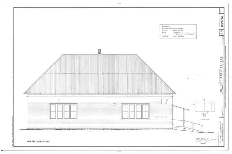 File:Pettigrew School, Across White River from Highway 16, Pettigrew, Madison County, AR HABS ARK,44-PETIG,1- (sheet 5 of 11).png