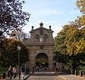 Pevnost Vyšehrad, Praha 2-Vyšehrad - Leopoldova brána.JPG