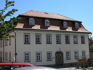 Clergy house - Image: Pfarrhaus Ilmenau