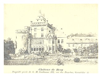 Charlotte, Grand Duchess of Luxembourg - Image: Pg 406 Château de Berg