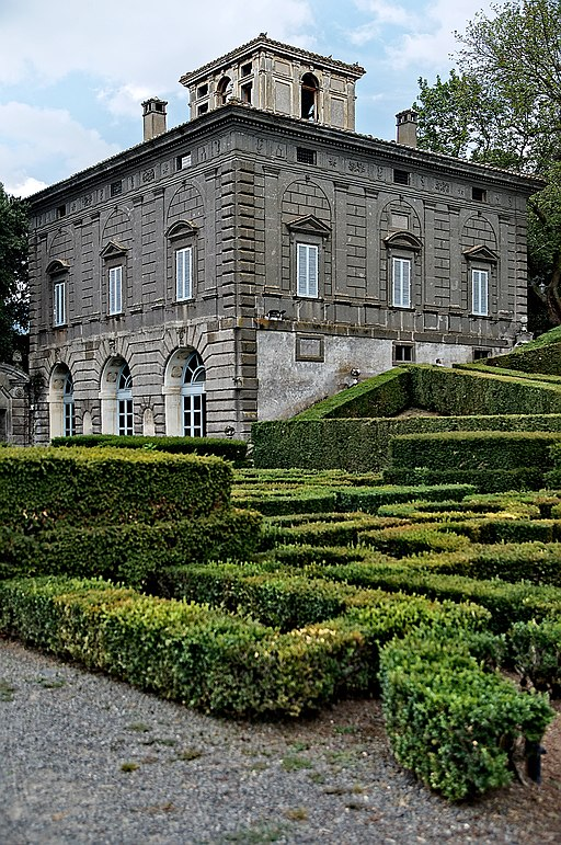 Palazzina Montalto, Villa Lante in Bagnaia