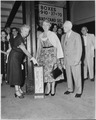 Photograph of Bess Truman and Margaret Truman casting their votes for players to appear in Major League Baseball's... - NARA - 200441.tif