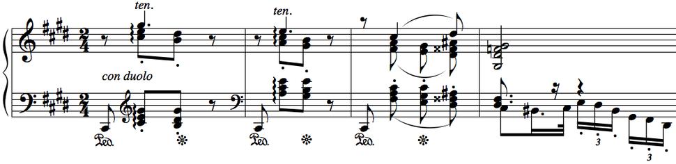 Piano Concerto No. 1, II - Moszkowski