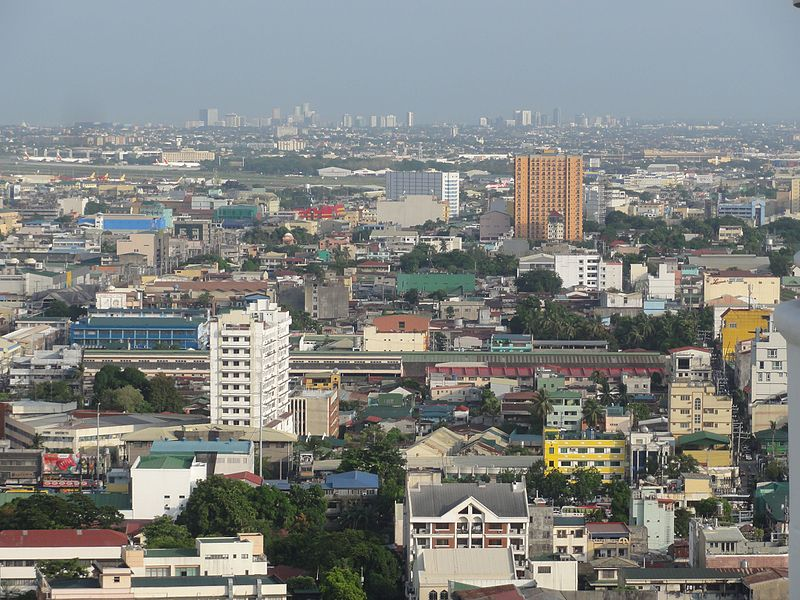 Talaksan:Pic geo photos - ph=mm=pasay - skyline; aerial shot from cityland vito cruz -philippines--2015-0624--ls-.JPG