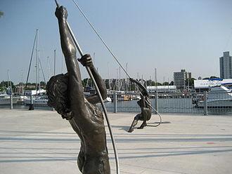 Hughson Street (Hamilton, Ontario) - Pier 8, Hamilton Waterfront Trail, Art Sculpture