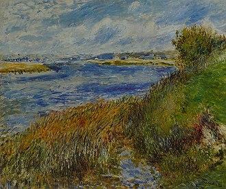 Draveil - Image: Pierre Auguste Renoir La Seine à Champrosay