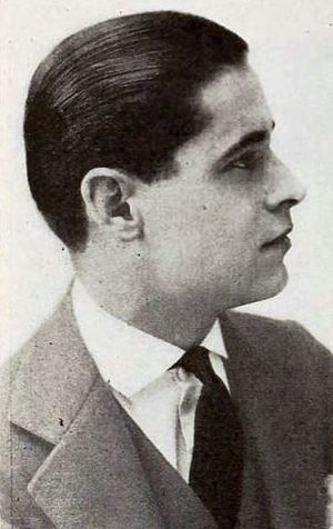 Pierre Gendron (actor) - From a 1920 magazine