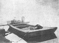 Piet Mondriaan - Unloading a sand barge - A199 - Piet Mondrian, catalogue raisonné.jpg