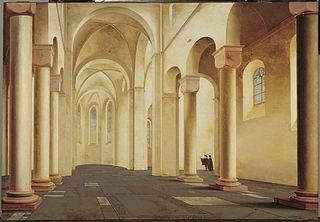 Interior of the St. Pieterskerk in Utrecht