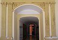 Pilastres de la portalada renaixentista del palau Ducal, Gandia.JPG