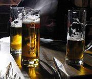 Boccali di birra Pilsener